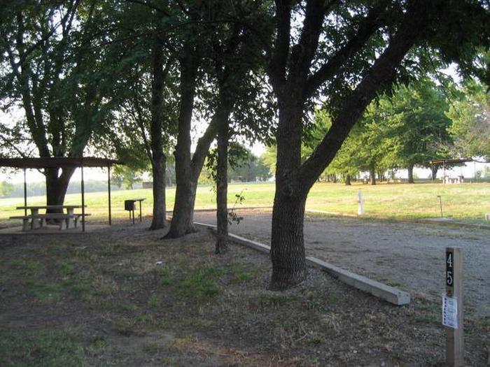 Coon Creek Campsite #45