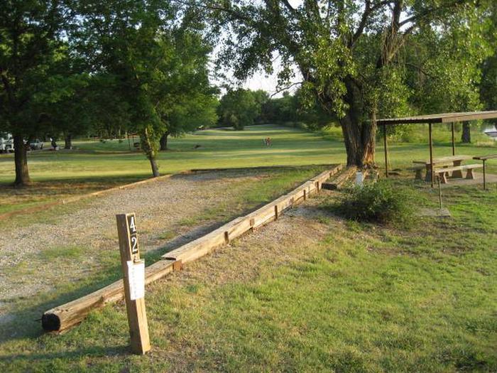Coon Creek Campsite #42
