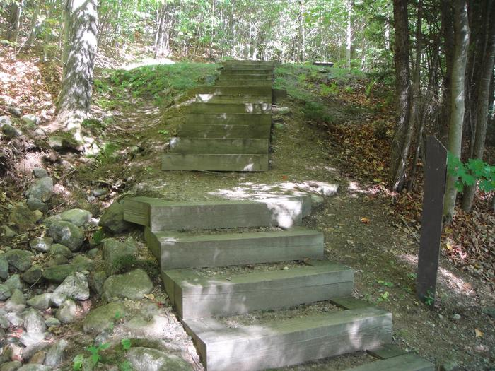 B-04 - stair up to access site
