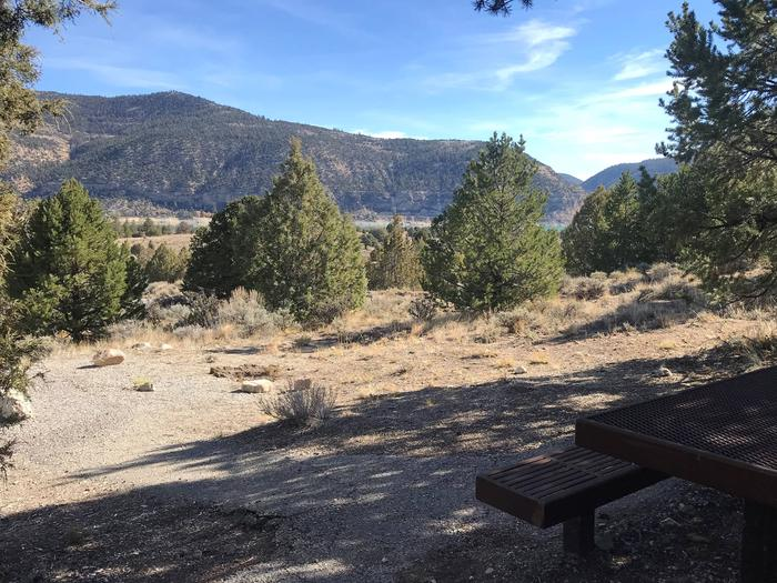 Joes Valley Campground Site 13