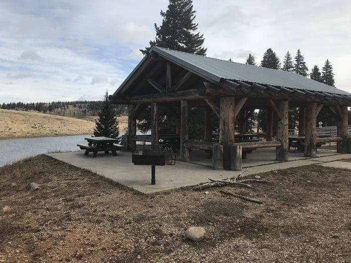 Group Shelter at Hopewell Lake