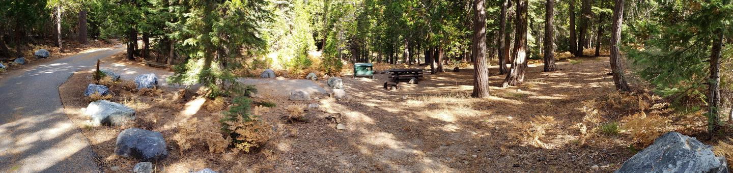 French Meadows Campsite 35