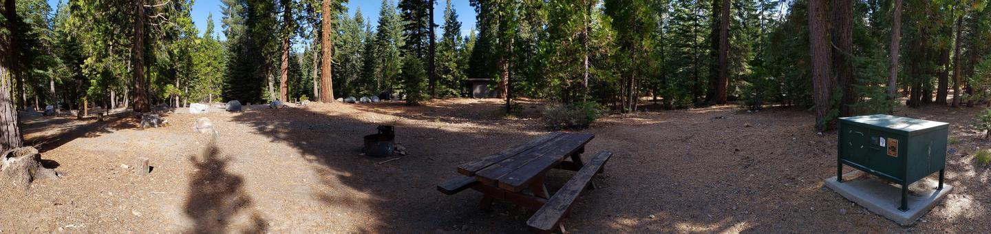 French Meadows Campsite 38