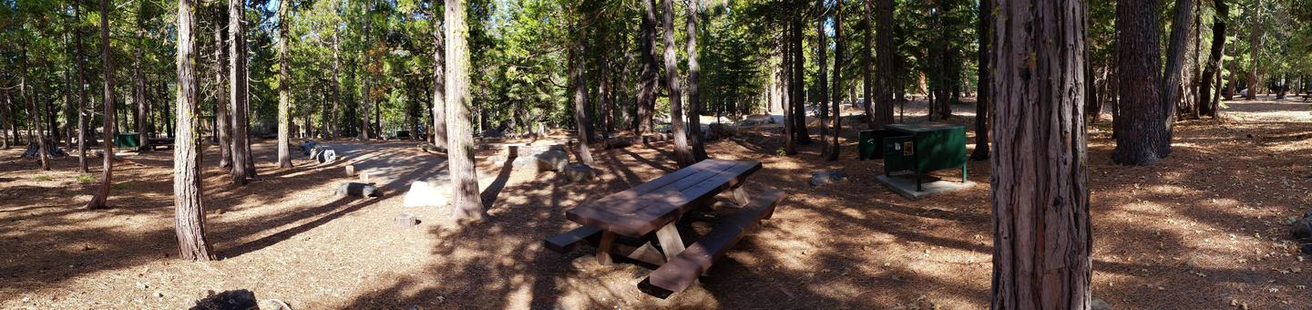 French Meadows Campsite 40