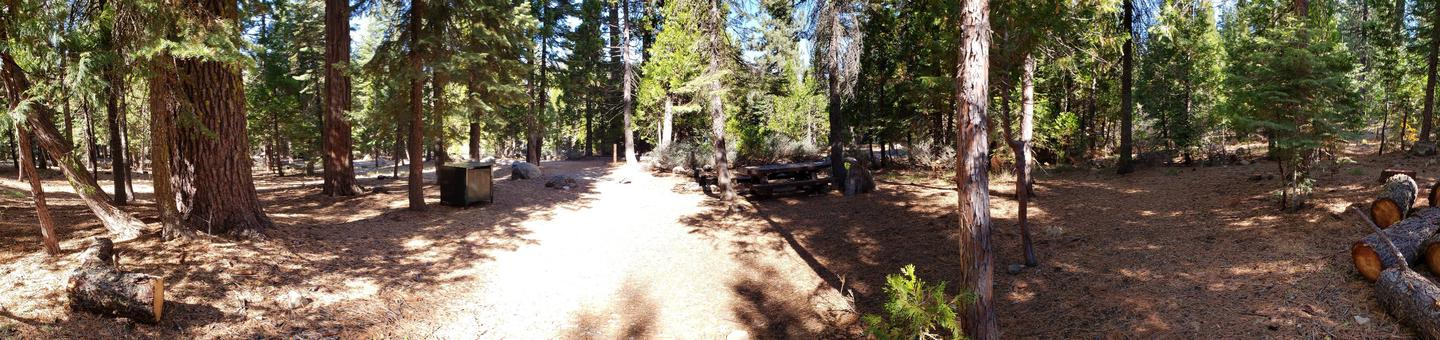 French Meadows Campsite 46