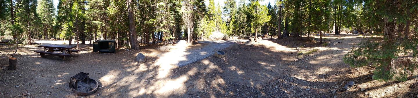 French Meadows Campsite 47