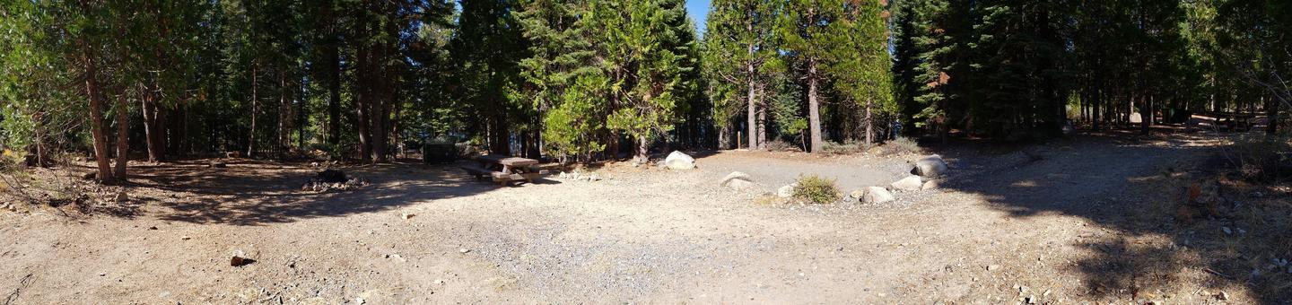 French Meadows Campsite 48