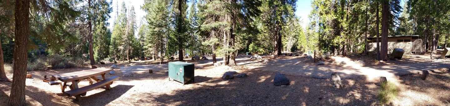 French Meadows Campsite 54