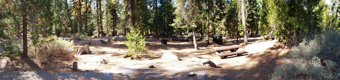 French Meadows Campsite 58