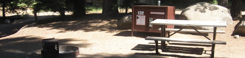 site 132, partial shade