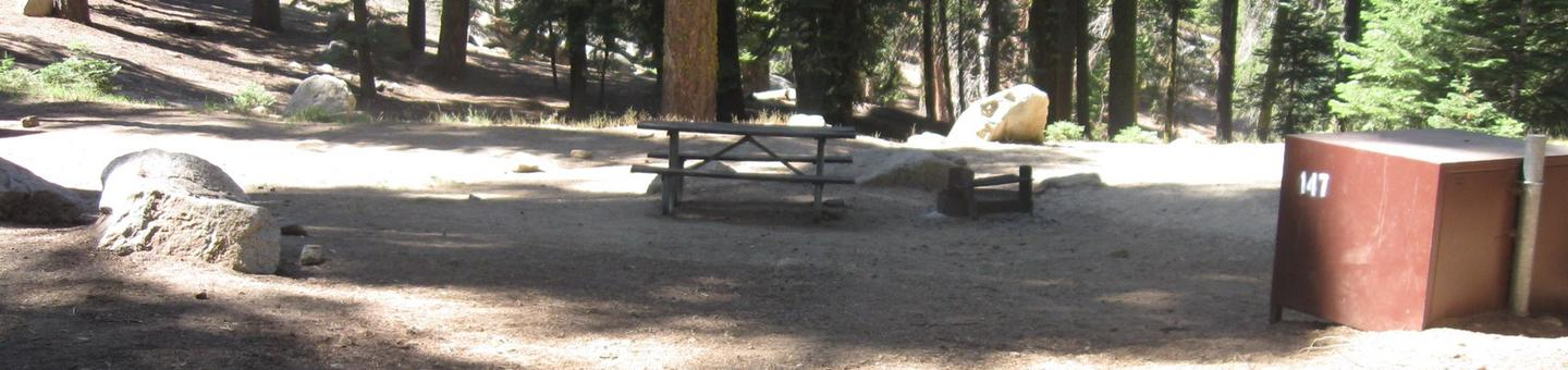 site 147, partial shade, near restrooms