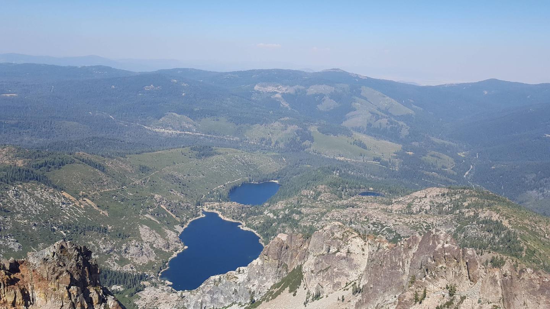 Sierra Buttes, hike near Campground