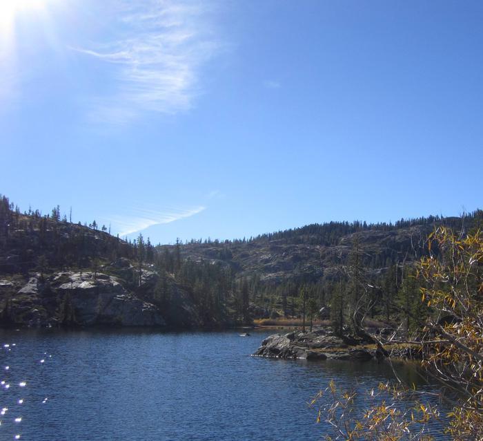 Packer LakePacker Lake near campground