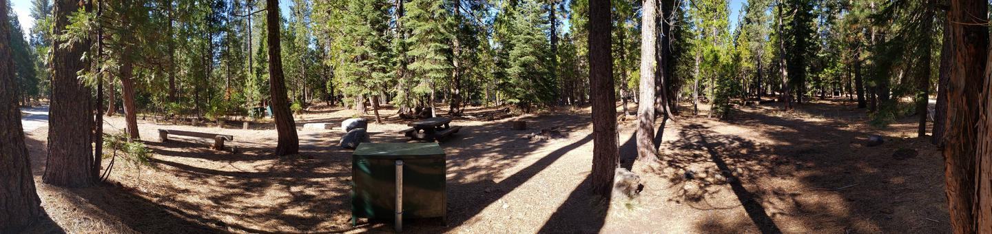 French Meadows Campsite 61