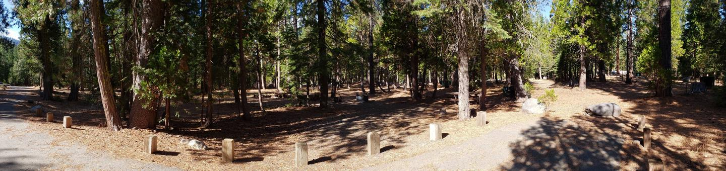 French Meadows Campsite 62