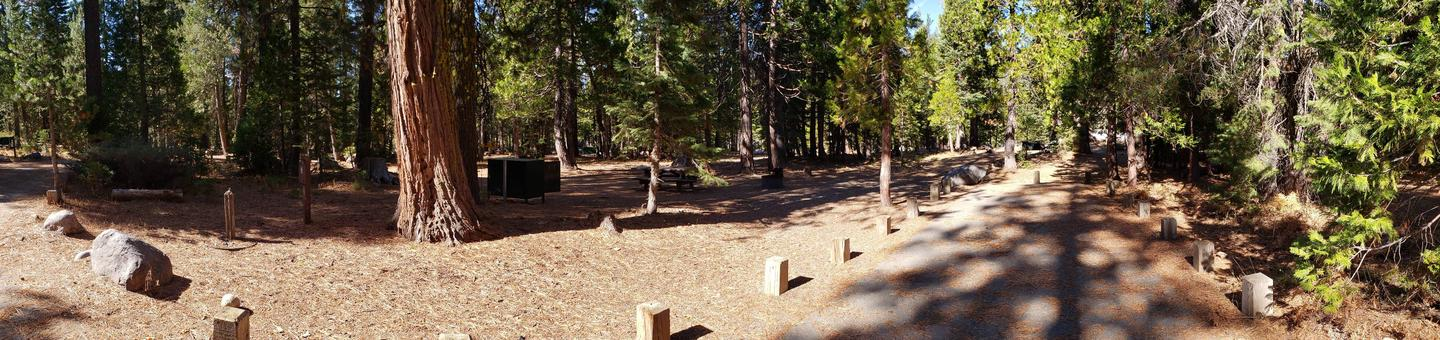 French Meadows Campsite 63