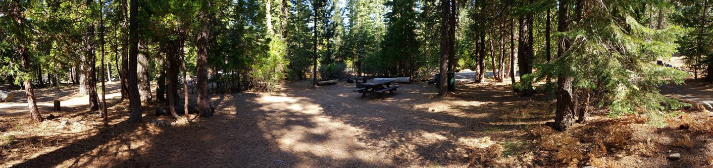 French Meadows Campsite 64