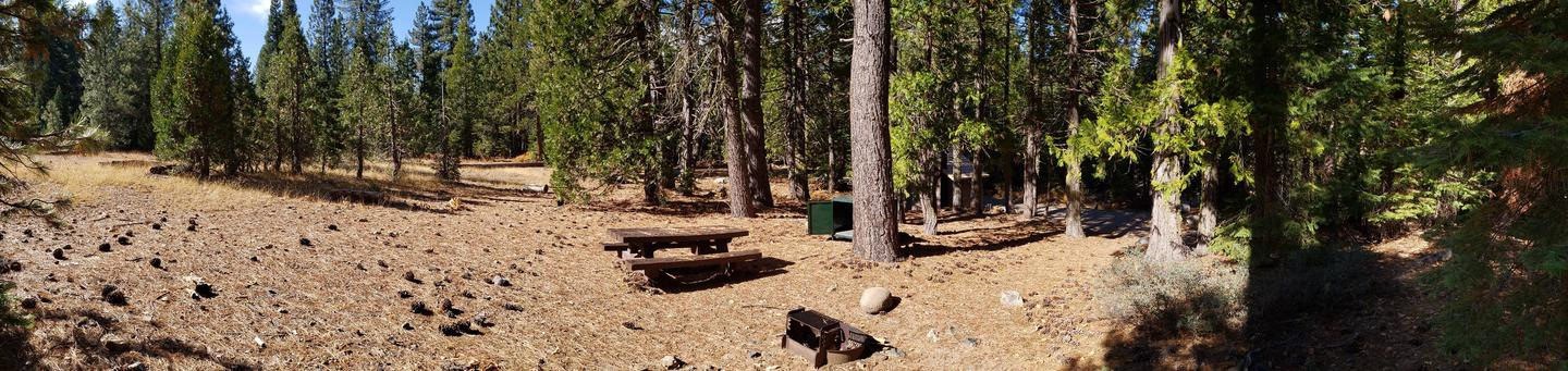 French Meadows Campsite 65