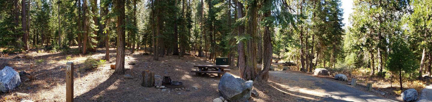 French Meadows Campsite 71