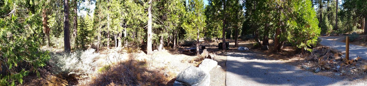 French Meadows Campsite 73