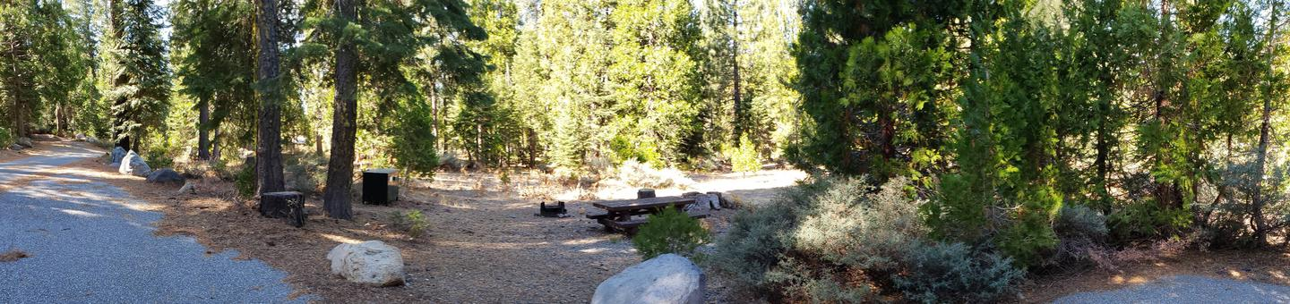 French Meadows Campsite 75