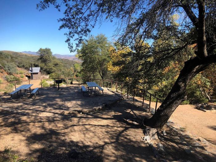 KELLNER GROUP SITEGroup picnic area a top the unique CCC staircase.