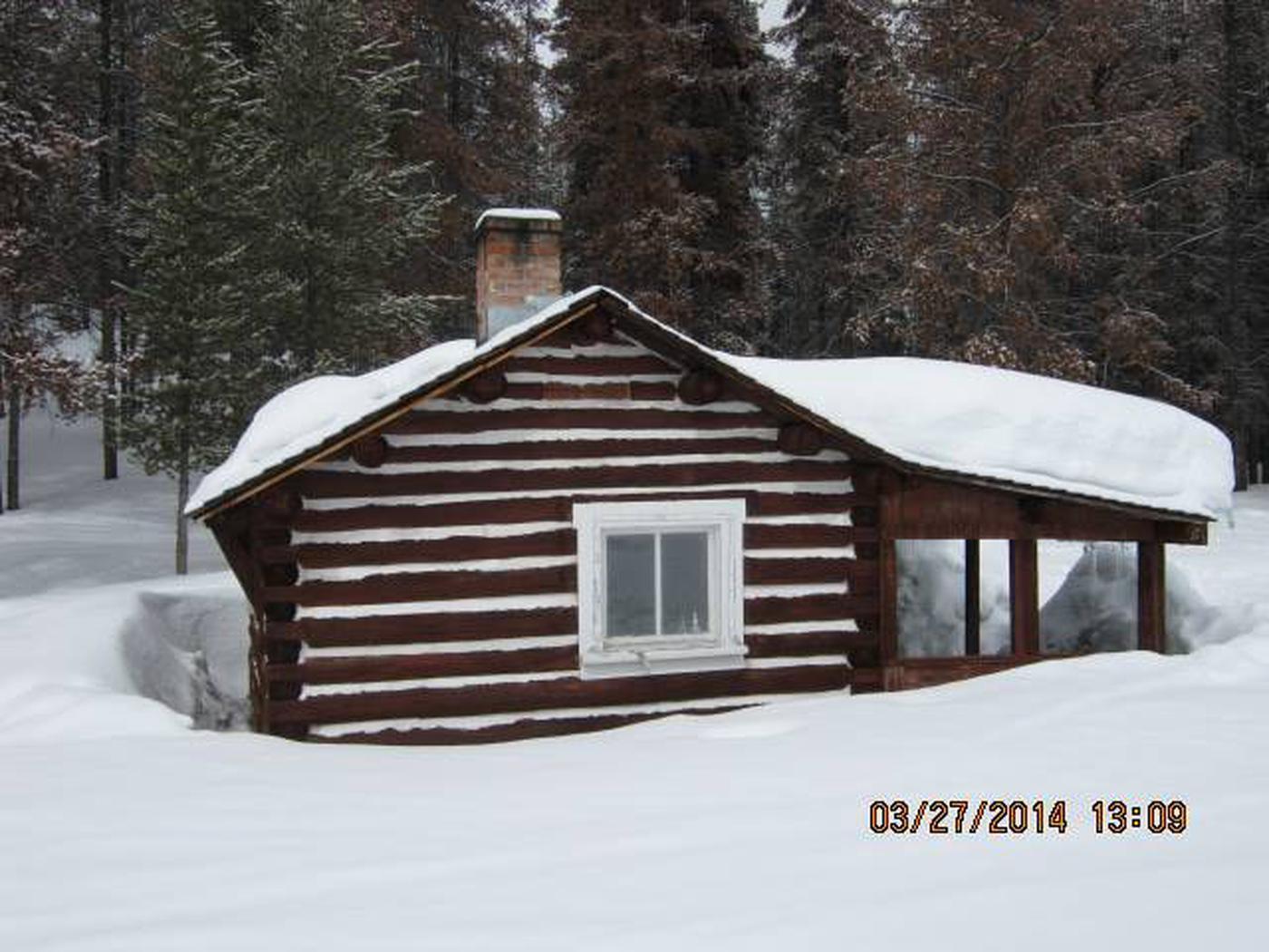 HOGAN CABINA winter destination.