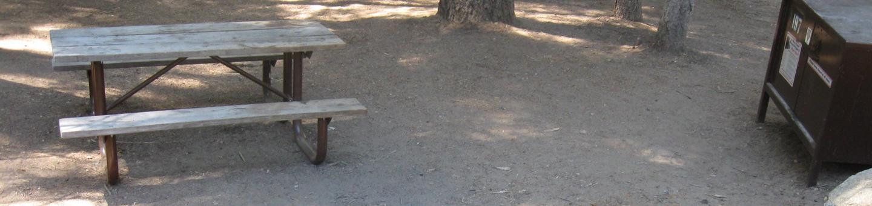 Site 197, shady, near creek and meadow