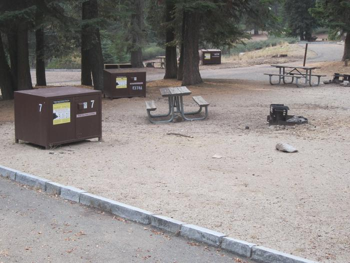 Site 7, Partial Shade, Near Restrooms