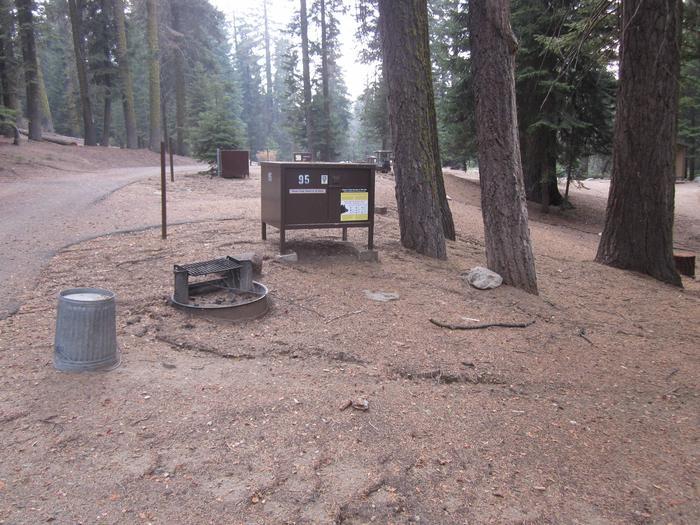 Site 95, no generator loop, partial shade