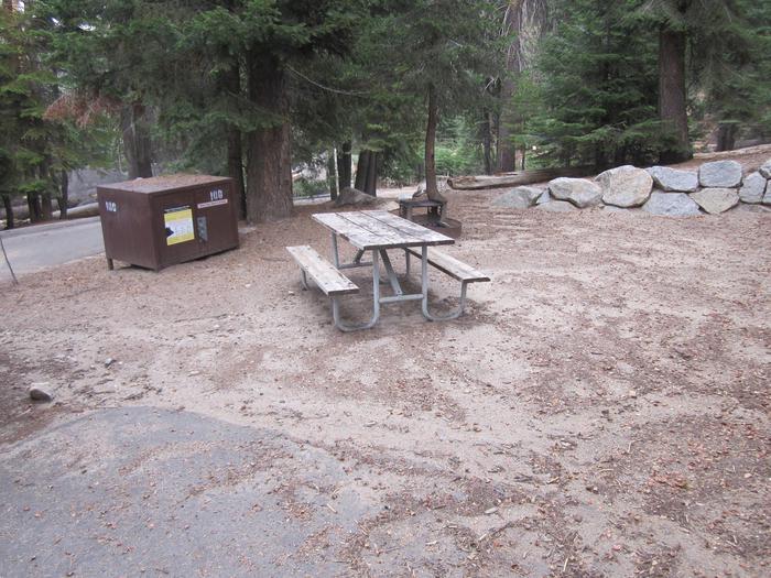 Site 100, no generator loop, partial shade
