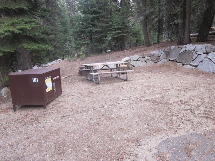 Site 101, no generator loop, shady