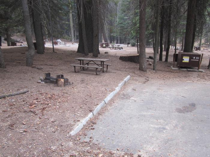 Site 213, Shady, Near Restrooms