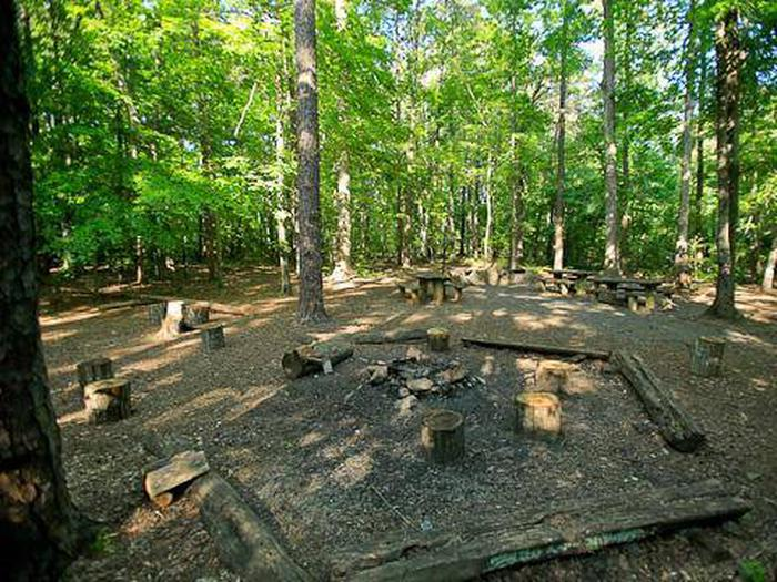 Badin Lake Group Camp-Site C