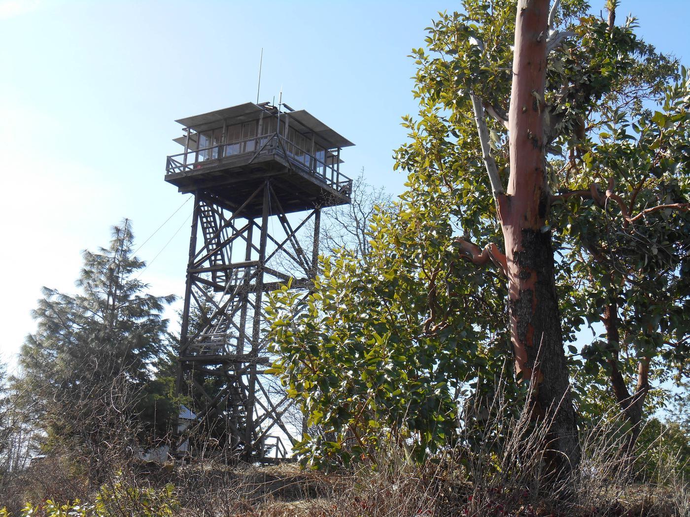 PICKETT BUTTE LOOKOUTApproaching Pickett Butte Lookout