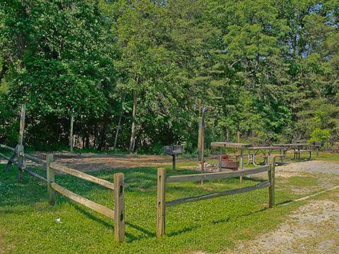Canebrake Horse Camp-Site 019