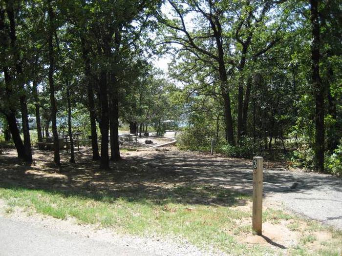 Osage Cove Campsite #3