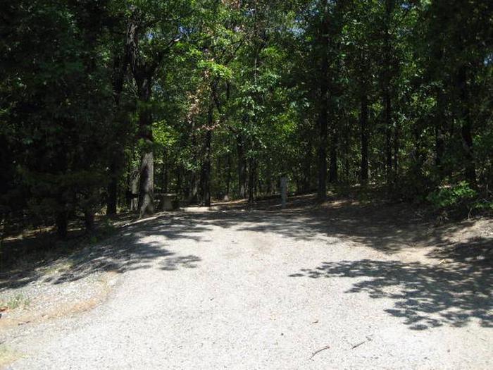 Osage Cove Campsite #16