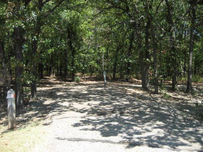 Osage Cove Campsite #18