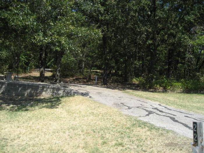 Osage Cove Campsite #22