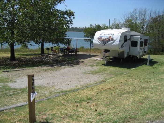 Osage Cove Campsite #24