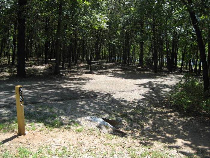 Osage Cove Campsite #28