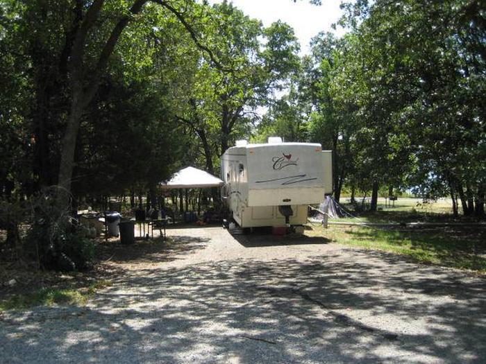 Osage Cove Campsite #36