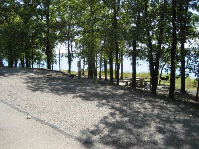Osage Cove Campsite #15