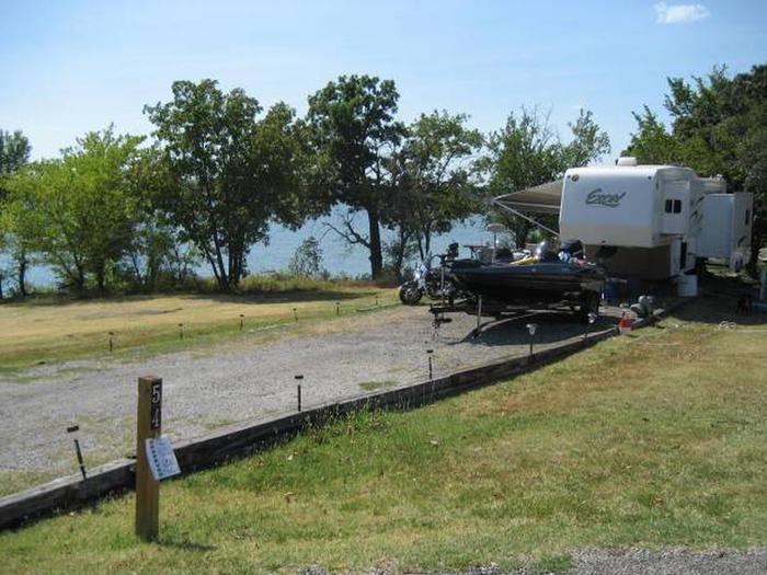 Osage Cove Campsite #54