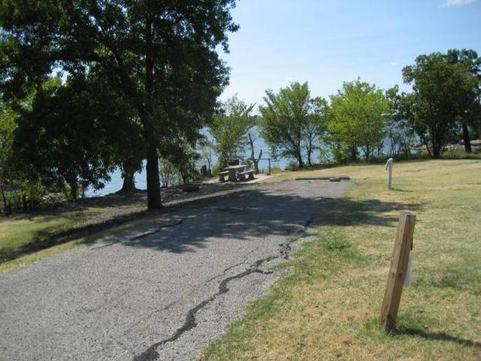 Osage Cove Campsite #55