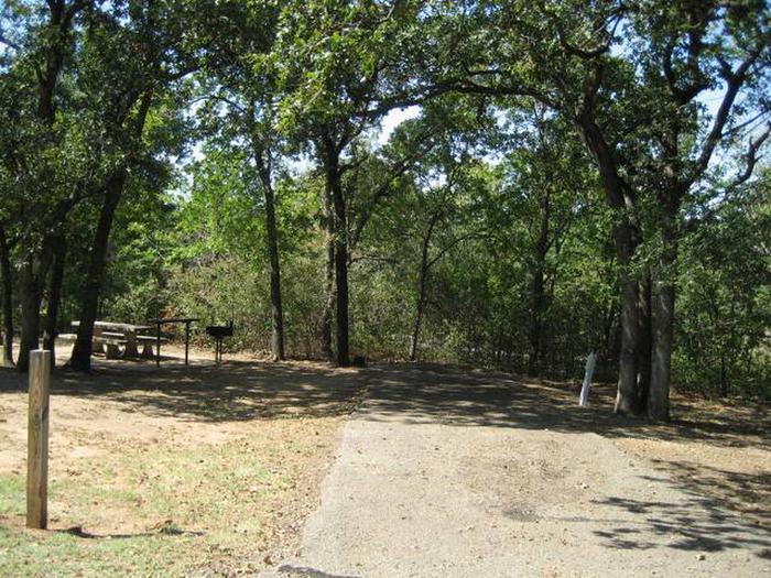 Osage Cove Campsite #61