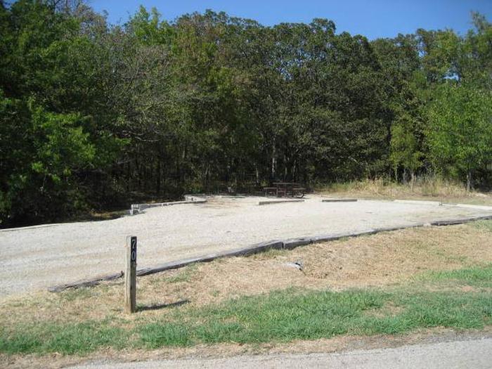 Osage Cove Campsite #70