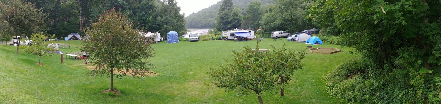 Winhall Brook CampgroundNorth Side Campsites