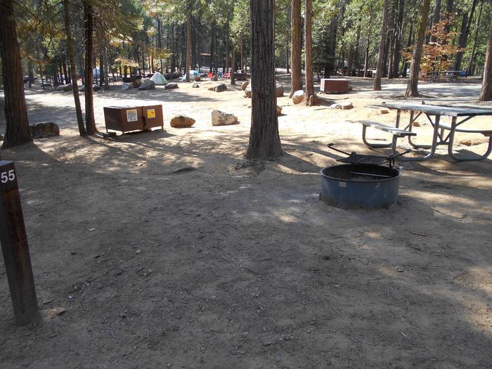 Hodgdon Meadow CampgroundSite 055